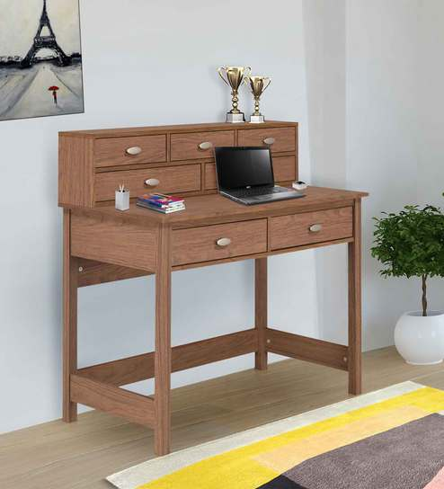 newest ee8a4 1f8c6 Hoffman Study Desk in Walnut Colour by @home