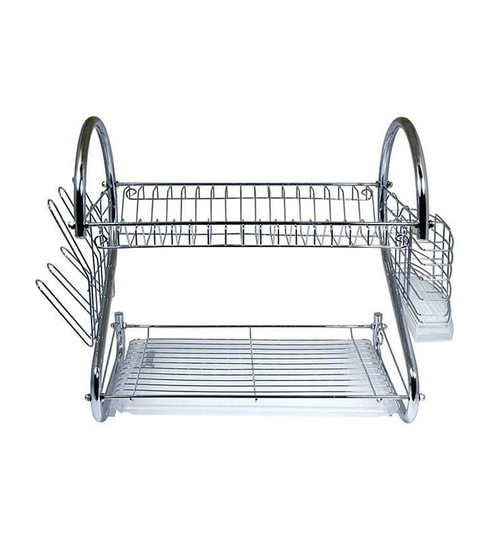 Home Belle Stainless Steel Utensils Kitchen Rack