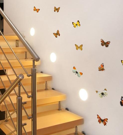 Buy Vinyl Butterflies Wall Sticker By Home Decor Line Online