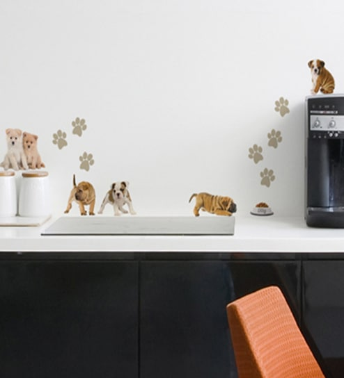 Vinyl Dogs Wall Sticker By Home Decor Line