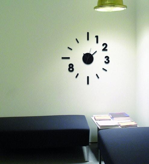 Buy Vinyl Wall Clock Wall Sticker By Home Decor Line Online Kids