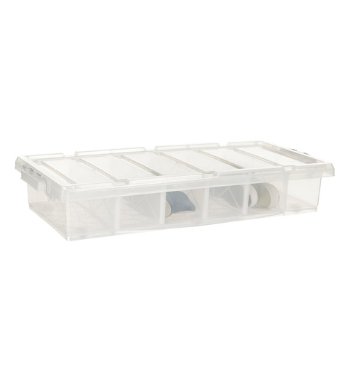Buy Howards Storage World Easi Store Underbed 6 Compartment Plastic