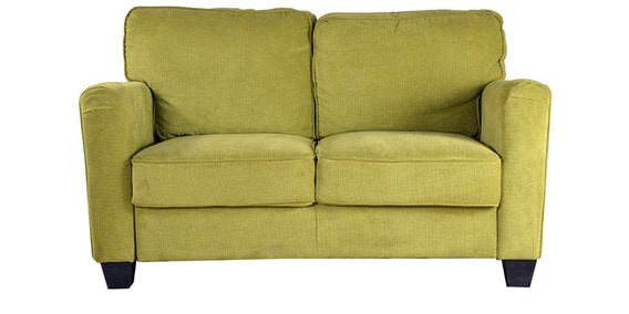 Fine Trent Fabric Two Seater Sofa In Lime Green Colour By Hometown Caraccident5 Cool Chair Designs And Ideas Caraccident5Info