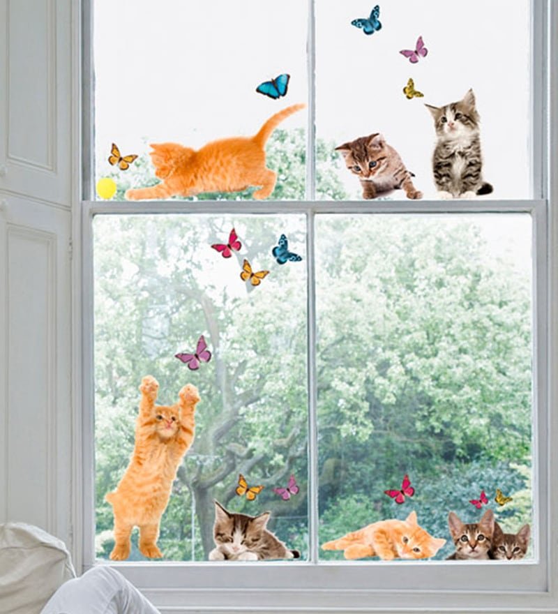 Vinyl Cats Wall Sticker by Home Decor Line