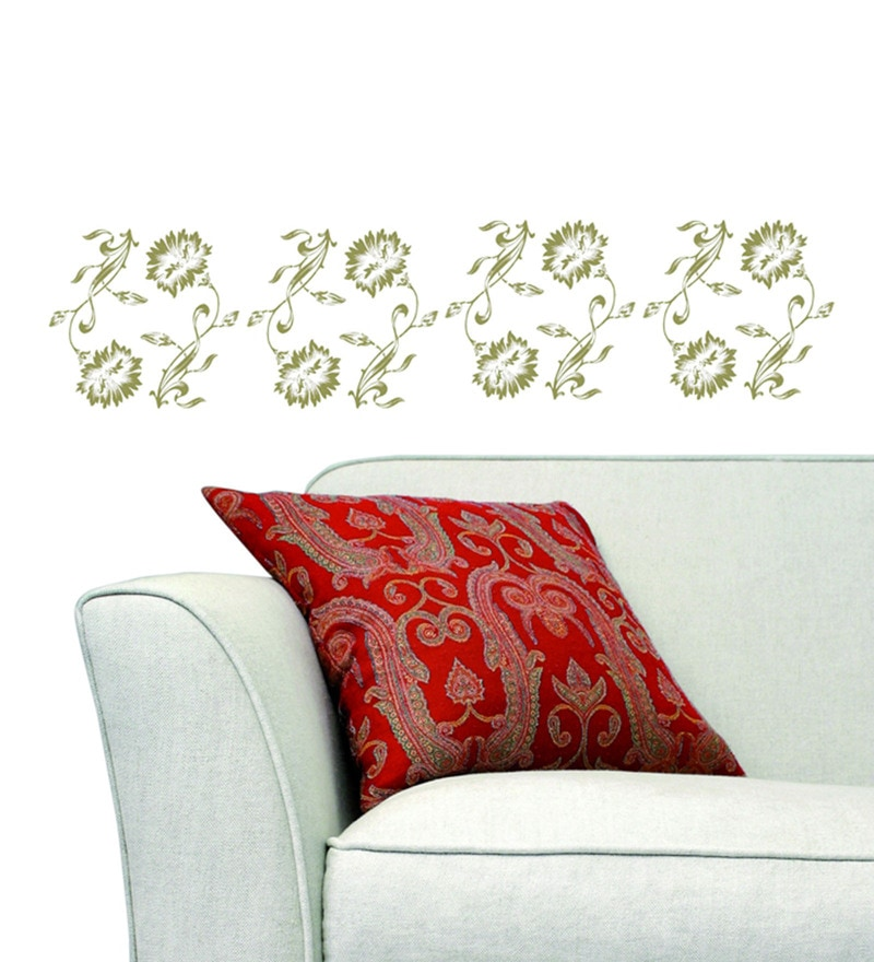 Vinyl Dco Flowers Wall Sticker by Home Decor Line