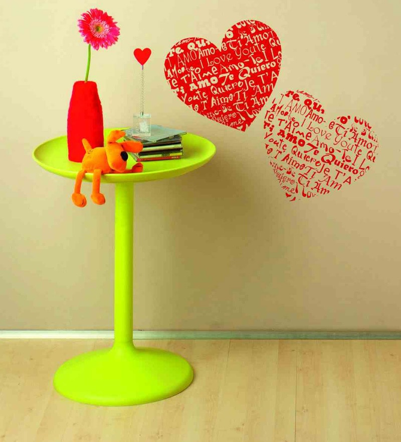 Vinyl Hearts Wall Sticker by Home Decor Line