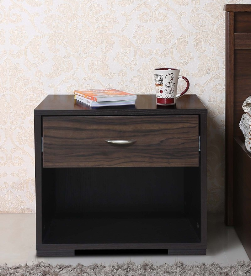 Honey Bed Side Table by Crystal Furnitech