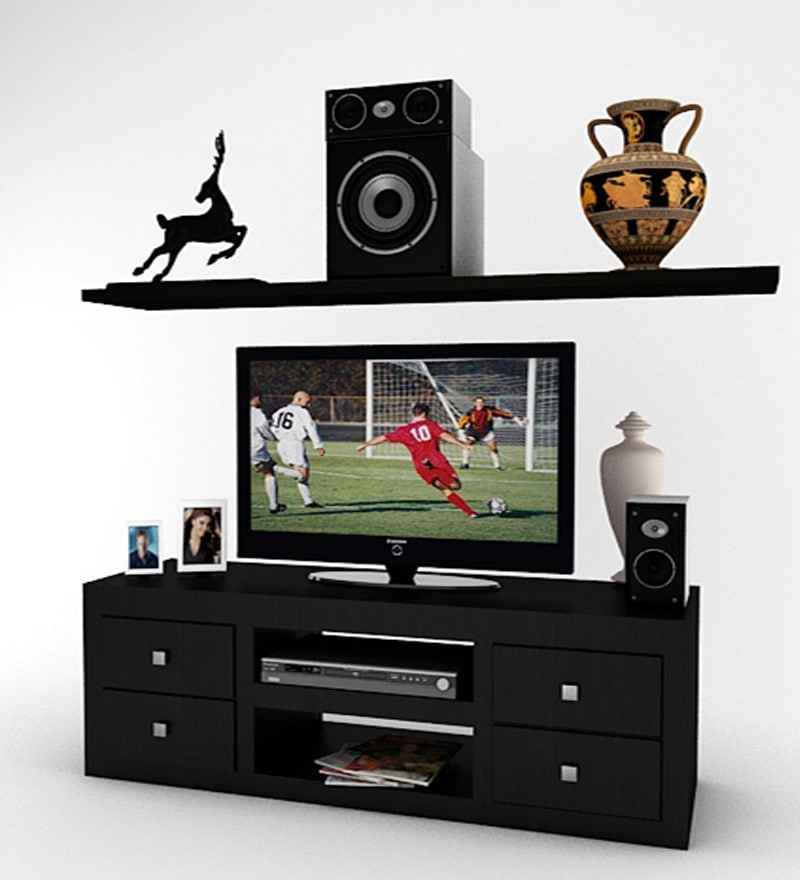 Buy Housefull Charles Tv Cabinet In Wenge Finish Online