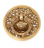Home Sparkle Brass Door Knocker