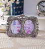 Home Sparkle Multicolor Aluminum 7 x 9.5 Inch Victorian Double Photo Frame