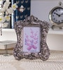 Home Sparkle Multicolor Aluminum 7 x 9 Inch Victorian Photo Frame
