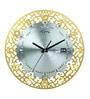 Gold Aluminium 40 x 40 Inch Wall Clock by Home