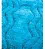 Blue Cotton 32 x 20 Inch Hexa Waves Door Mat by HomeFurry
