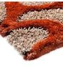 Orange And Beige Polyester 72 x 48 Inch Spooky Tree Area Rug by HomeFurry