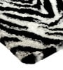 Multicolour Polyester 60 x 36 Inch Zebra Skin Area Rug by HomeFurry
