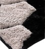 Homefurry Multicolour Polyester 71 X 47 Inch Honey Comb Carpet