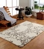 Homefurry Multicolour Wool 71 x 47 Inch Abstract Area Rug