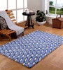 Multicolour Wool 47 x 71 Inch Area Rug by HomeFurry