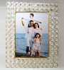 Golden Metal 5 x 7 Inch Single Photo Frame by Homesake