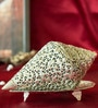 Homesake Royal Silver & Red Copper Showpiece