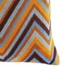 HomeStop Multicolor Polyester 12 x 18 Inch Abstract Cushion Cover