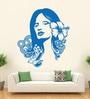 Hoopoe Decor Vinyl Beautiful Lady Wall Decal