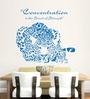 Hoopoe Decor Vinyl Concentration is the Secret of Strength Wall Decal