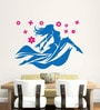 Hoopoe Decor Vinyl Dancing Girl with Pink Flower Wall Decal