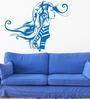 Hoopoe Decor Vinyl Girl in Fashion Wall Sticker
