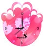 Hoopoe Decor Heart Cloud Acrylic 11.5 X 11.5 Inch Wall Clock