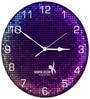 Hoopoe Decor Lighting Theme Trendy Designer Wall Clock