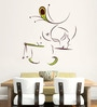 Hoopoe Decor Vinyl Divine Krishna Wall Decal