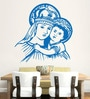 Hoopoe Decor Vinyl Mother Mary Wall Sticker