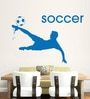 Hoopoe Decor Vinyl Play Soccer Wall Sticker