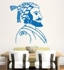 Hoopoe Decor Vinyl Shivaji The Great Wall Sticker