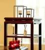 Brown Iron Tea Light Holder - Set of 2 by Hosley
