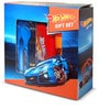 Hot Wheels Giftset, Water Bottle, Lunch Box & Fork and Spoon Combo(BPA Free) by Only Kidz