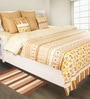 House This Beige 100% Cotton Duvet Cover