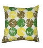 Green Cotton 16 x 16 Inch Cushion Cover by House This