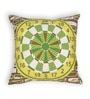 House This Green Cotton 16 x 16 Inch Gaming-Dart Board Cushion Cover