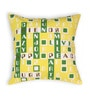 House This Green Cotton 16 x 16 Inch Gaming-Four Across Cushion Cover