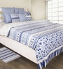 Indigo 100% Cotton Bed sheet by House This
