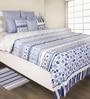 House This Indigo 100% Cotton Bed sheet