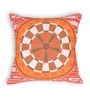 House This Orange Cotton 16 x 16 Inch Gaming-Dart Board Cushion Cover