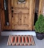 House This Red Cotton 26 x 18 Inch Door Mat