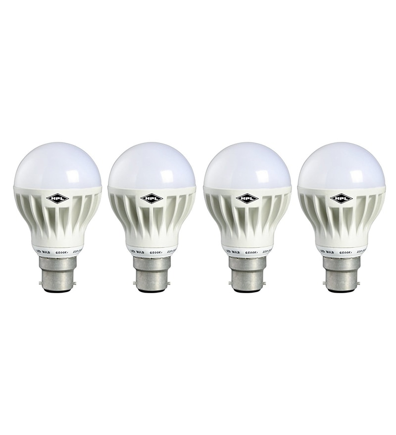 HPL White 15-Watt LED Bulbs - Set of 4
