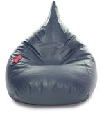 HumBug XXL Bean Bag with Beans in Grey Colour