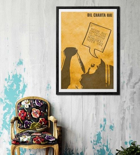 Buy Sun Board 26 x 38 Inch Dil Chahta Hai - Aakash Special Framed ...