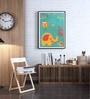Hulkut Wooden 26 x 38 Inch Baby Love Framed Digital Art Print