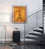 Hulkut Wooden 26 x 32 Inch Paris Love Framed Digital Art Print